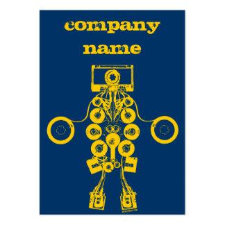 Tarjeta del perfil de Music Company Tarjetas De Visita Grandes