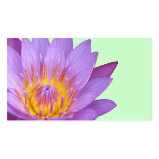 Tarjeta del perfil/de visita de Lotus Tarjetas De Visita