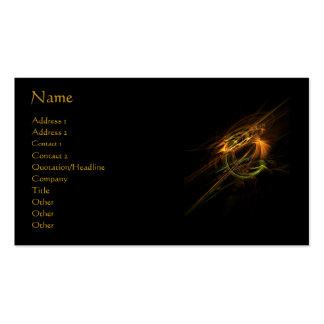 Tarjeta del perfil/de visita de Phoenix Tarjetas De Visita