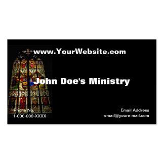 Tarjeta del perfil de Windows de la iglesia Plantillas De Tarjetas De Visita
