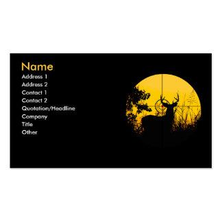 Tarjeta del perfil del negocio tarjetas de visita