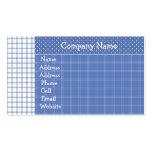 Tarjeta del perfil del oso del marinero tarjeta de negocio