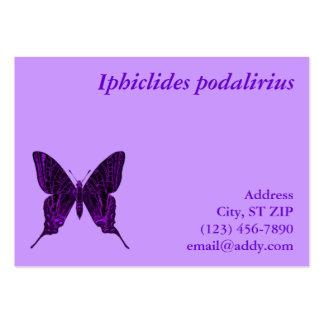 Tarjeta del perfil del podalirius de Iphiclides Tarjetas Personales