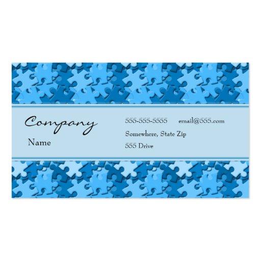Tarjeta del perfil - pedazos decorativos del tarjetas de visita