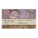 Tarjeta del perfil - unicornio plantillas de tarjetas personales