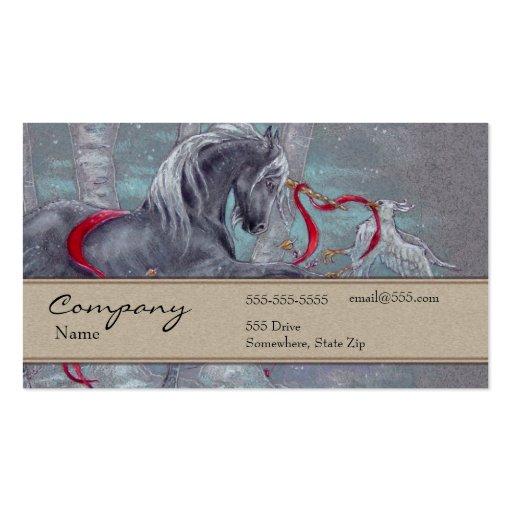 Tarjeta del perfil - unicornio tarjetas personales
