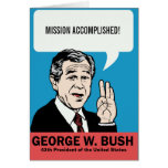 Tarjeta del personalizable de George W. Bush