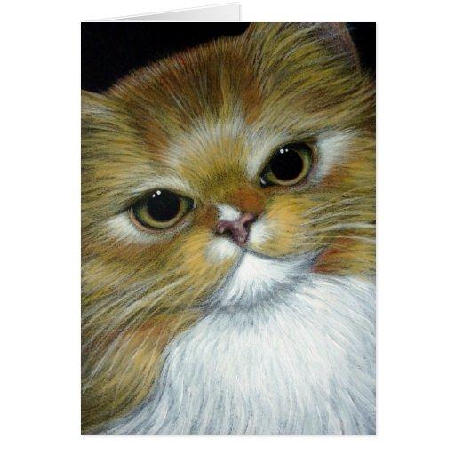 Tarjeta del personalizar del CAT del JENGIBRE