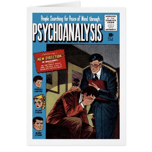 Tarjeta del problema #2 del psicoanálisis