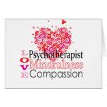 Tarjeta del psicoterapeuta