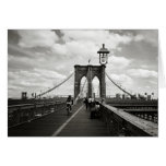 Tarjeta del puente de Brooklyn