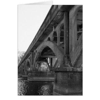 Tarjeta del puente del carro de Winona
