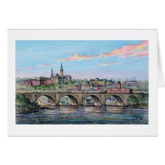 """Tarjeta del puente dominante de Paul McGehee """"Geor"""