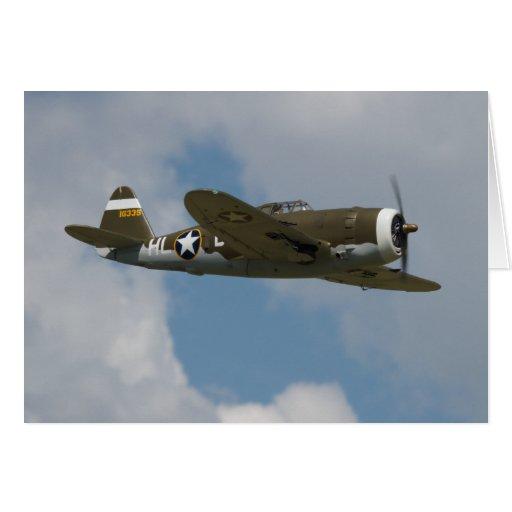 Tarjeta del rayo P-47