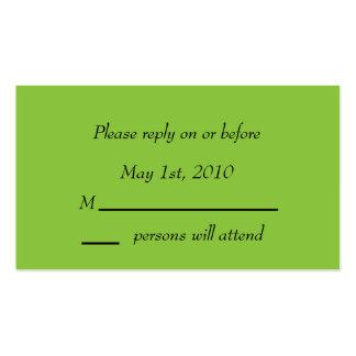 Tarjeta del recinto de la envidia del damasco plantilla de tarjeta personal