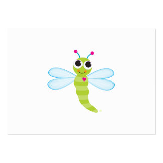 Tarjeta del recinto de la libélula tarjetas de visita grandes