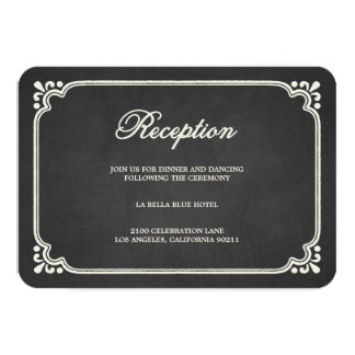Tarjeta del recinto de la recepción de la unión el invitación 8,9 x 12,7 cm