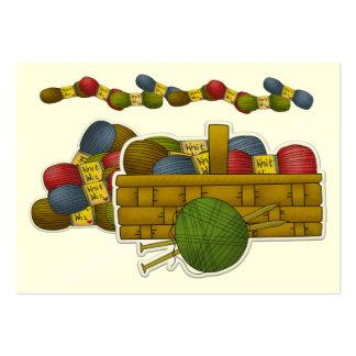 Tarjeta del recinto/del Crafter del regalo que Tarjetas De Visita Grandes