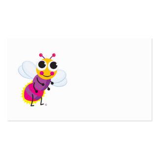 Tarjeta del recinto del insecto de relámpago tarjetas de visita
