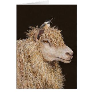 Tarjeta del recolector de las lanas