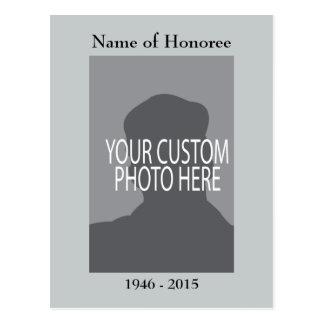 Tarjeta del recuerdo de la ceremonia conmemorativa postales