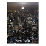 Tarjeta del recuerdo de Nueva York del paisaje urb Postal