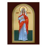 Tarjeta del rezo de Abigail del santo Tarjeta Postal