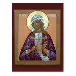 Tarjeta del rezo de Aurelia del santo Postales