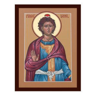 Tarjeta del rezo de Daniel del profeta Postales