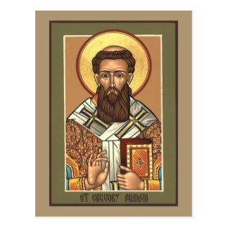 Tarjeta del rezo de Gregory Palamas del santo Postales