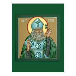 Tarjeta del rezo de San Patricio Tarjeta Postal