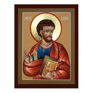 Tarjeta del rezo de St Luke Postales