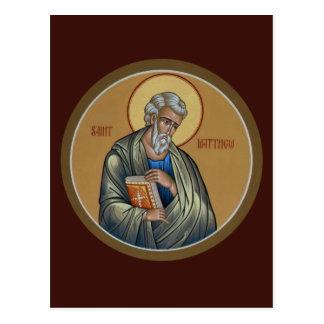 Tarjeta del rezo de St Matthew Postal