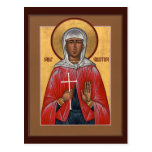 Tarjeta del rezo del St. Christina Tarjeta Postal