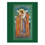 Tarjeta del rezo del St. Romano el Mélodo Postal