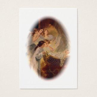 Tarjeta del rezo: La dicha de la bendición del Tarjetas De Visita Grandes