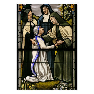 Tarjeta del rezo para las vocaciones religiosas tarjeta de visita