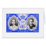 Tarjeta del sello de los derechos de Mónaco