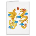 Tarjeta del símbolo del dragón de Phoenix