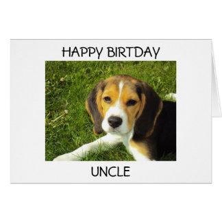 Tarjeta del tío cumpleaños