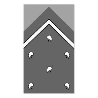 Tarjeta del truco del pañuelo del carbón de leña/t tarjeta personal