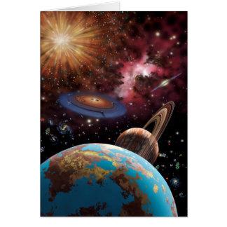 Tarjeta del universo II