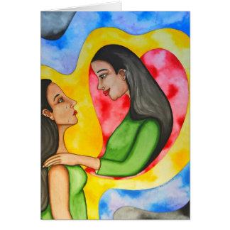 tarjeta del Uno mismo-amor de Rita Loyd