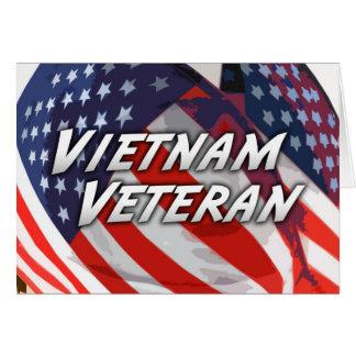 Tarjeta del veterano de Vietnam