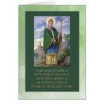 Tarjeta del vintage de San Patricio