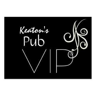 Tarjeta del VIP para los clientes/los clientes por