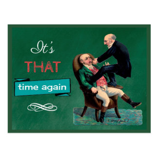 Tarjeta dental divertida del recordatorio de la postales