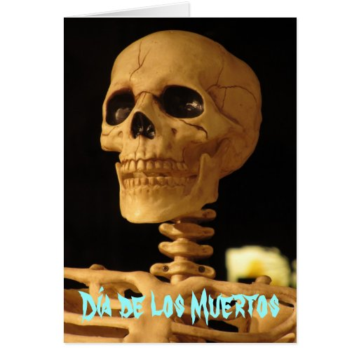 Tarjeta - Día de los Muertos
