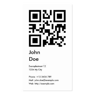 Tarjeta (dirección, teléfono, correo electrónico,  tarjeta de negocio
