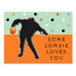 tarjeta divertida de Halloween Postales